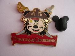 Big Pin S Disney Pirates 4 X 3,5 Cm Neuf - Disney