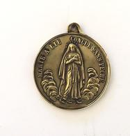 """Médaille"""" Marie à été Concue Sans Péché """" """"Cor Meum Jungatur Vobis"""" - Religion & Esotérisme"""