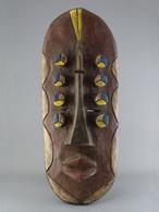 Masque De Guerrier De Grebo De Libéria / Grebo Warrior Mask Liberia / Grebo Kriegermaske Liberia - Arte Africana