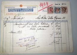 STABILIMENTO TIPOGRAFICO TEATRALE E COMMERCIALE TORINO 1929 - Italia