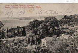 TRSTENO SA OTOCIMA SIPANOM I MLJETOM-RAGUSA-CANNOSA CON LE ISOLE GIUPPANA E MELEDA-1910 - Croatie