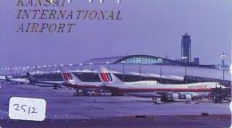 Télécarte  JAPON * KANSAI AIRPORT *  (2512)  AVIATION * AIRLINE Phonecard  JAPAN AIRPLANE * FLUGZEUG - Avions