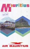 Télécarte  JAPON * AIR MAURITIUS *  (2525)  AVIATION * AIRLINE Phonecard  JAPAN AIRPLANE * FLUGZEUG - Avions