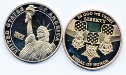 Pièce De Collection - Medal For Honor - Liberty - USA - USA