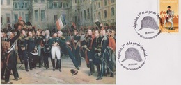Napoléon - Garde Impériale - FRANCE - Uniformes - L'Empereur, Les Adieux De Fontainebleau - Armée - 2004 - Lettres & Documents