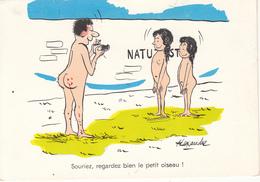 """ALEXANDRE  - NATURISTES """" Souriez,regardez Le Petit Oiseau ! """" - Alexandre"""