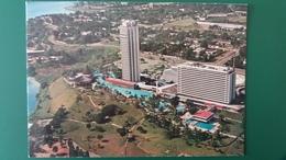 CPSM REPUBLIQUE DE COTE D IVOIRE ABIDJAN HOTEL IVOIRE VUE AERIENNE ED R BARNOIN - Costa De Marfil