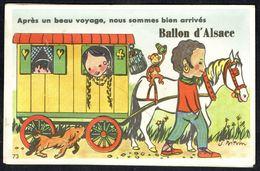 CARTE A SYSTEME - DEPLIANT - Région: Col Du Ballon D'Alsace - Bon état - Non Circulé - Not Circulated - Nicht Gelaufen. - A Systèmes