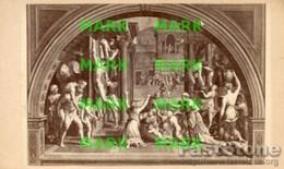 Vaticano - Santino Antico INCENDIO DI BORGO Di RAFFAELLO E ALTRI, Stanze Di Raffaello - OTTIMO P74 - Religione & Esoterismo