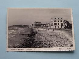 WIMEREUX-PLAGE La Plage ( 67 ) - ( Carte Photo 8,5 X 13 Cm.) Anno 19?? ( Voir / Zie Photo ) ! - France