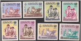 Afghanistan 1963 - United Nations, Cattles, Science Research, Complete Set Of 8v MNH - Afghanistan