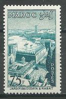 Maroc YT N°361 Jardin Des Oudaïas à Rabat Neuf ** - Marruecos (1891-1956)