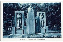 METZ - Le Monument Albert 1er, Roi Des Belges - Metz