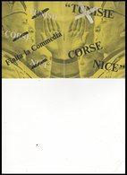 DEPLIANT      TUNISIE     CORSE   NICE - Vieux Papiers