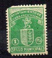 Viñeta De Ayuntamiento De Carranza. (vizcaya) - España