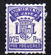 Viñeta Ayuntamiento De Javea. Pro Fogueres. - Otros