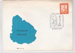 JUAN PABLO II, 70 ANIVERSARIO. OBLITERE 1990. URUGUAY.- BLEUP - Uruguay