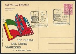 1973 - ITALIA - Card + Y&T 1001 [Italia] + VIAREGGIO - 1946-.. République