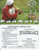 GREECE - Cobra, Pan Asia, Satline Prepaid Card 5 Euro, Tirage 35000, Exp.date 31/12/03, Used - Greece