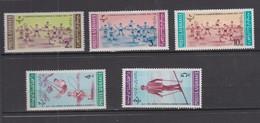 AFGHANISTAN 1963  * YT N° 746 E A 746 J - Afghanistan
