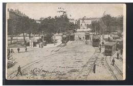CPA-69-1904-LYON-PLACE CARNOT-BELLE ANIMATION-PERSONNAGES ET NOMBREUX TRAMWAYS- - Lyon