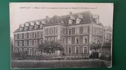 CPA GENTILLY MAISON DES PERES LAZARISTES TRANSFORMEE EN HOPITAL N° 88 GUERRE 1914 1915 - Gentilly