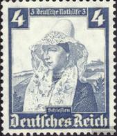 Deutsches Reich 589 Con Fold 1935 Costumi - Allemagne
