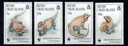 WWF - BRITISH VIRGIN ISLANDS  - IGUANA -  1994 -  4  V. -MNH  - - W.W.F.
