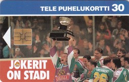 Finland, D057, Jokerit Ice Hockey Team, Sport, 2 Scans. - Finlande