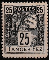 MAROC POSTES LOCALES TANGER FEZ Y&T PL N° 124 N* - Morocco (1891-1956)