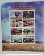 Mozambique 2002** Klb.2393-96. Animals  MNH [4;25] - W.W.F.