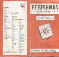 Plan BLAY : PERPIGNAN - 1985 - 1 / 8 000ème. - Cartes Topographiques