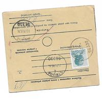 Yugoslavia Sprovodni List Send MONEY Knin Struga 1985 - Non Classificati
