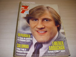 TELE 7 JOURS 1275 11.1984 DEPARDIEU COLUMBO FALK Petula CLARK LAVILLIERS PISIER - Télévision