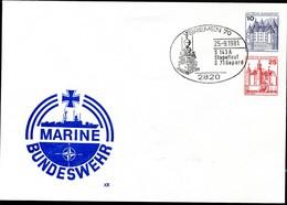 Bund PU257 B1/001 MARINE BUNDESWEHR Sost. Bremen SCHNELLBOOT GEPARD 1981 - [7] République Fédérale