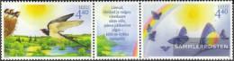 Estonia 518-519 Triple Strip (complete.issue.) Unmounted Mint / Never Hinged 2005 Children - Estonia
