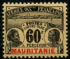 Mauritanie (1906) Taxe N 15 * (charniere) - Mauritanie (1906-1944)