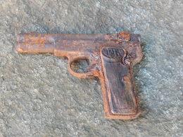 D'origine Allemande/De Fouille/Pistolet Langeman/Typique 2nd WW/A Identifier/A Voir§ - Armes Neutralisées