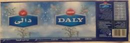 Egypte Étiquette D'eau Minérale 0.600 L DALY (water Label) - Etiquettes