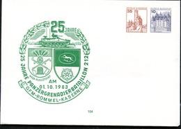 Bund PU258 D2/001 PANZER-GRENADIER-BATAILLON Augustdorf 1983 - Militaria