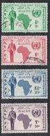 ETHIOPIE AERIEN N°57 A 60 - Ethiopie
