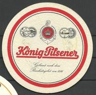 Bierdeckel Deutschland König-Pilsener - Beer Mats