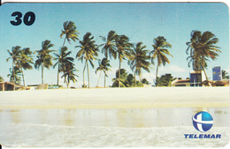 BRAZIL(Telemar) - Praia De Caicara Do Norte, Tirage 90000, 01/00, Used - Paysages