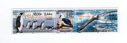 M-P19L8 TAAF FSAT Antarctic Neuf ** MNH 2000 270 271 272 Manchots Triptyque Ornithologie Albatros Birds - Unused Stamps