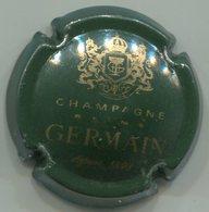 CAPSULE-CHAMPAGNE GERMAIN N°24 Vert Foncé Et Or, Petit 1898 - Germain
