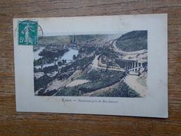 Carte Assez Rare , Rouen , Panorama Pris De Bon-secours - Rouen