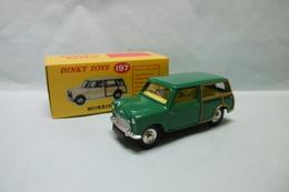 Dinky Toys / Atlas - MORRIS MINI TRAVELLER Vert Réf. 197 Neuf NBO 1/43 - Dinky