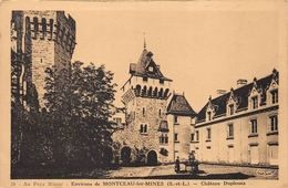 Château Du Plessis Blanzy Montceau Cim - France