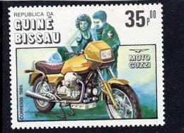 Guiné-Bissau  -  Moto Guzzi  -  Moto/Motorcycle  -  1v Timbre  Neuf/MNH - Motorbikes