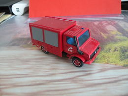 Véhicule De Pompier - Mercedes Unimog - 1/50 - SOLIDO FRANCE - N°65 - Pompiers